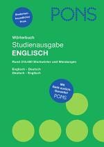 PONS Wörterbuch Englisch-Deutsch, Deutsch-Englisch