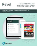Revel for Essentials of Sociology Access Card PDF