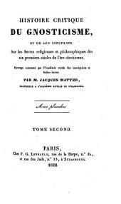 Histoire critique du gnosticisme...