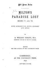 Paradise Lost: Books V and VI