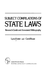 Subject Compilations of State Laws PDF