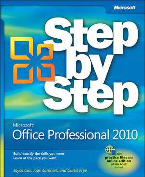 Microsoft Office Professional 2010 Step by Step PDF
