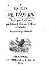 Les oeufs de paques: contes pour les enfans