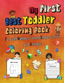 My First Best Toddler Coloring Book