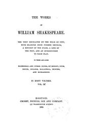 As you like it. Taming of the shrew. All's well that ends well. Twelfth night. Winter's tale