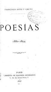 Poesías, 1880-1894