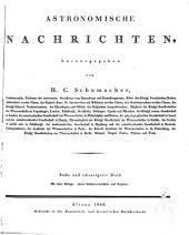 Astronomische Nachrichten: Volumes 26-30