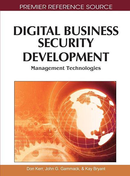 Digital Business Security Development: Management Technologies