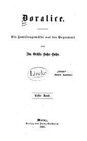 Doralice: Familiengemälde aus der Gegenwart, Band 1