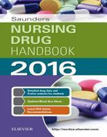 Saunders Nursing Drug Handbook 2016   E Book PDF