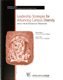 Download Leadership Strategies for Advancing Campus Diversity Book