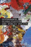 Governance  Globalization and Public Policy PDF