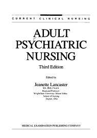Adult Psychiatric Nursing PDF