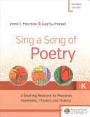 Sing a Song of Poetry  Grade K