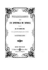 Volgarizzamento di un' epistola ... tratto da un codice Ms. Testo di lingua inedito. -Rovigo, Minelli 1847