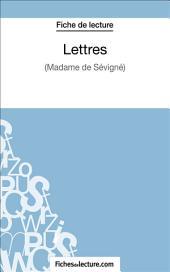 Lettres: Analyse complète de l'œuvre