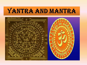 Yantra and Mantra   Illustrated