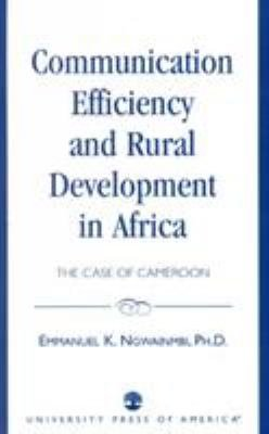 Communication Efficiency and Rural Development in Africa PDF