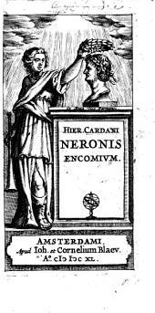 Hieronymi Cardani Neronis encomium