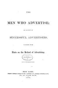 The Men who Advertise PDF