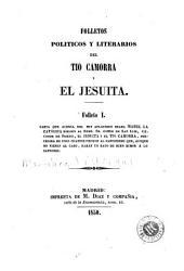 Folletos politicos y literarios del Tio Camorra y el Jesuita