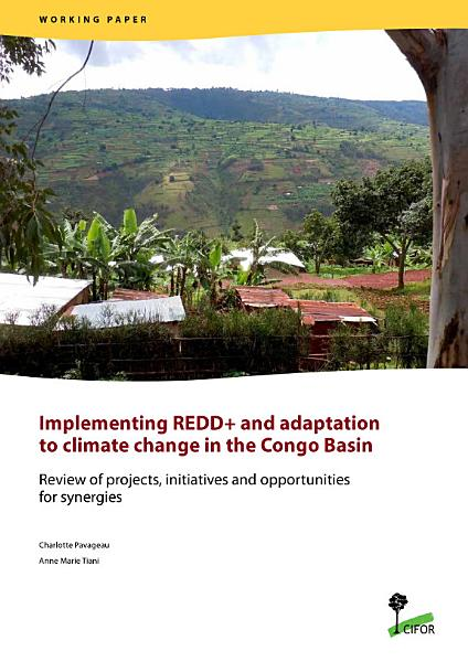 Implementing REDD  and adaptation to climate change in the Congo Basin