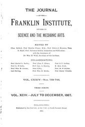 Journal of the Franklin Institute: Volume 94; Volume 124