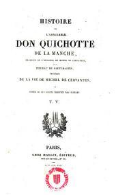 Histoire de l ́admirable Don Quichotte de la Manche