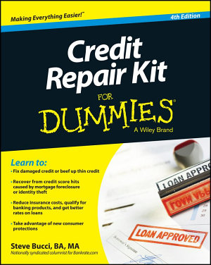 Credit Repair Kit For Dummies PDF
