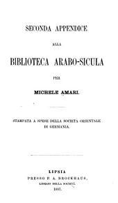Biblioteca arabo-sicula: ossia raccolta di testi arabici che toccano la geografia, la storia, le biografie e la bibliografia della Sicilia
