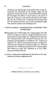 A rudimentary treatise on the history, construction, and illumination of lighthouses