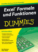 Excel Formeln und Funktionen f  r Dummies PDF