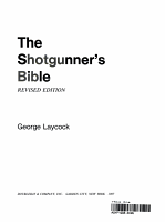 The Shotgunner s Bible PDF