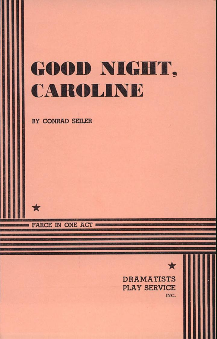 Good Night, Caroline