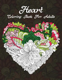 Heart Coloring Book For Adults