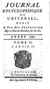 Journal encyclopédique: Volume2,Partie2