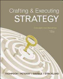 Crafting   Executing Strategy  Concepts and Readings
