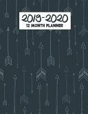 Download 2019 2020 12 Month Planner Book