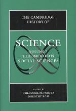 The Cambridge History of Science: Volume 7, The Modern Social Sciences