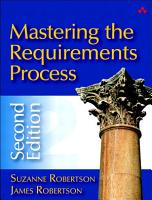 Mastering the Requirements Process PDF
