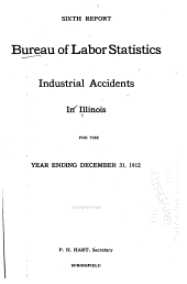 First-ninth Report [of The] Bureau of Labor Statistics: Industrial Accidents in Illinois ... [July] 1907-December 31, 1915, Volume 6