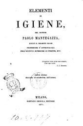 Elementi di igiene Paolo Mantegazza