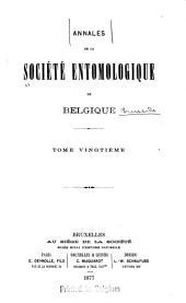 Bulletin et annales: Volumes20à21