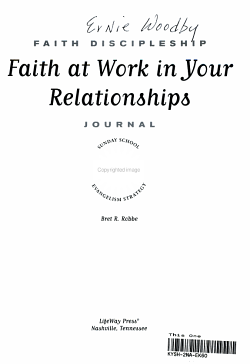 Faith at Work in Your Relationships PDF