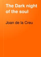 The Dark Night of the Soul PDF