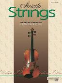 Strictly Strings, Bk 3: Violin