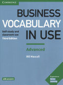Business Vocabulary in Use  Advanced Book with Answers PDF