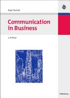 Communication in Business PDF