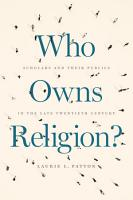 Who Owns Religion  PDF