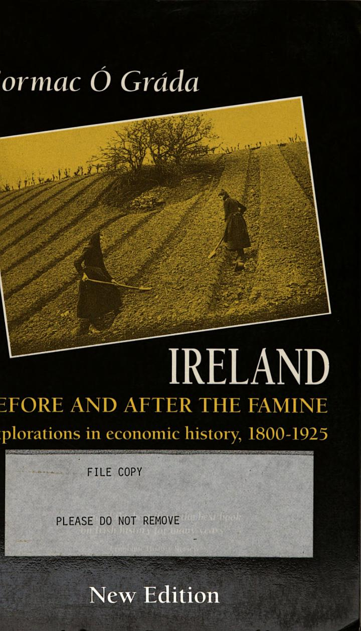 Ireland Before and After the Famine